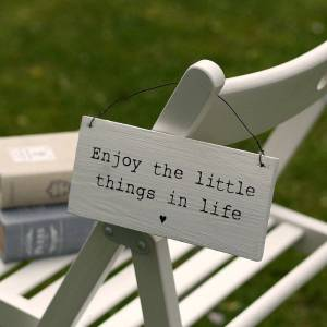 original_enjoy_the_little_things_in_life_wooden_sign